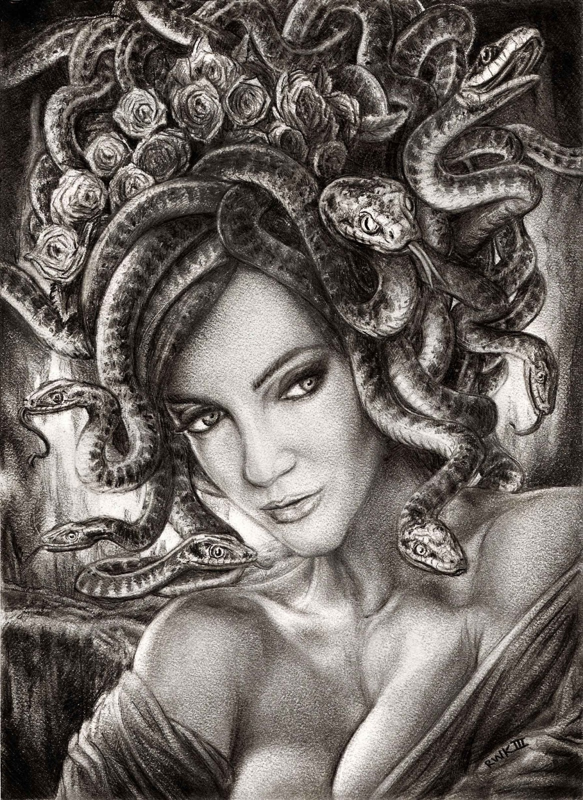 Story of Medusa and Athena