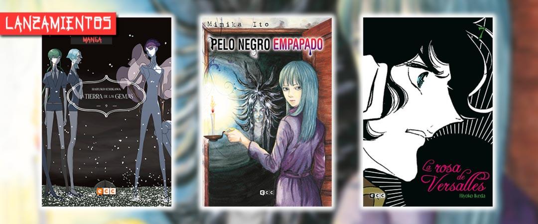 Novedades ECC Ediciones julio 2021 - manga