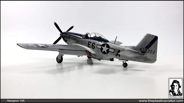 "Hasegawa P-51D Mustang ""Nancy Lee"" 1/48"