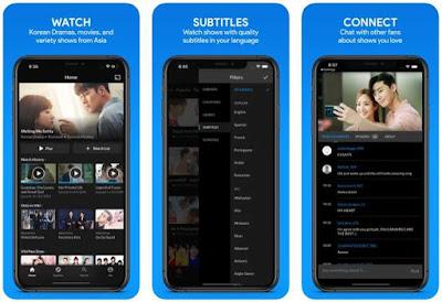 Aplikasi Nonton Drama Korea di iPhone - Viki