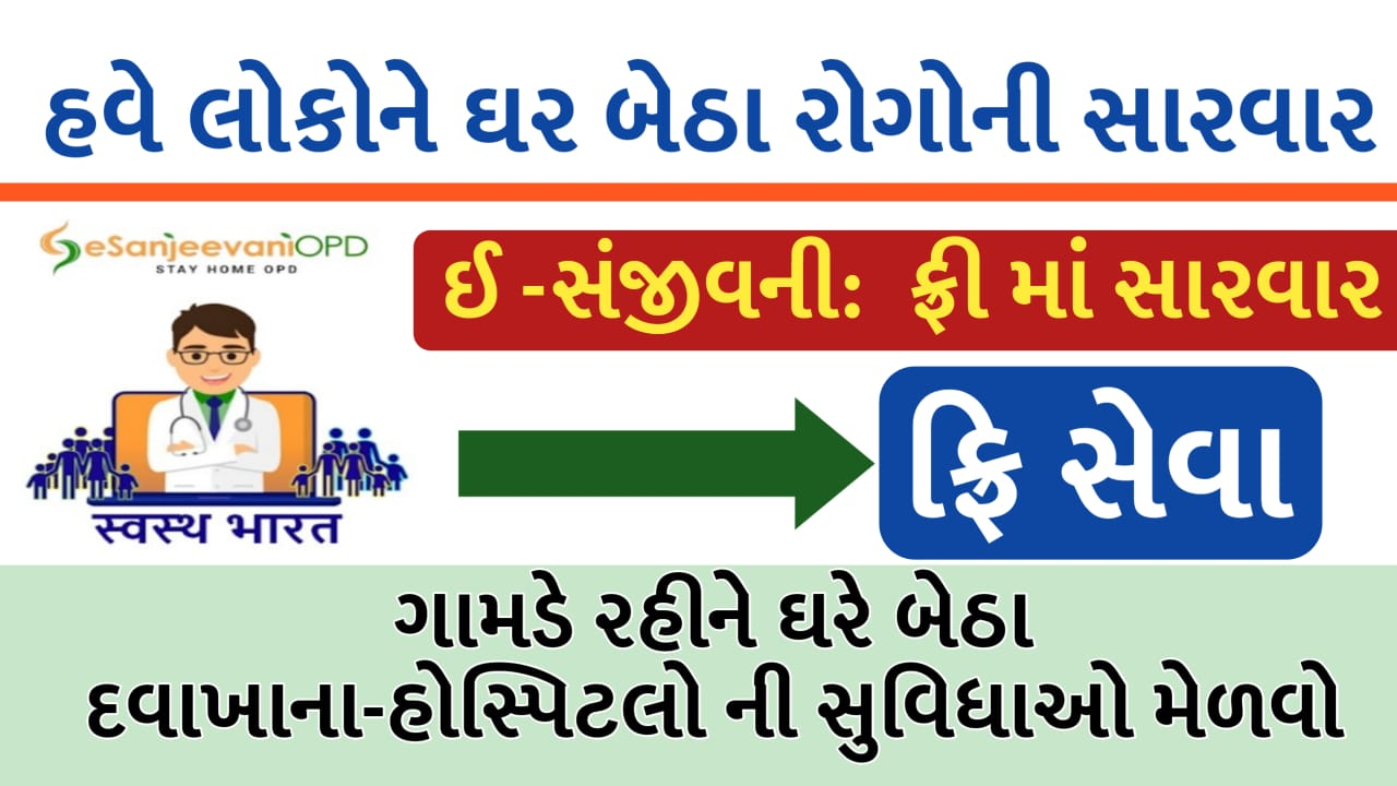 E-Sanjeev's app OPD started in Gujarat, patients will get treatment sitting at home