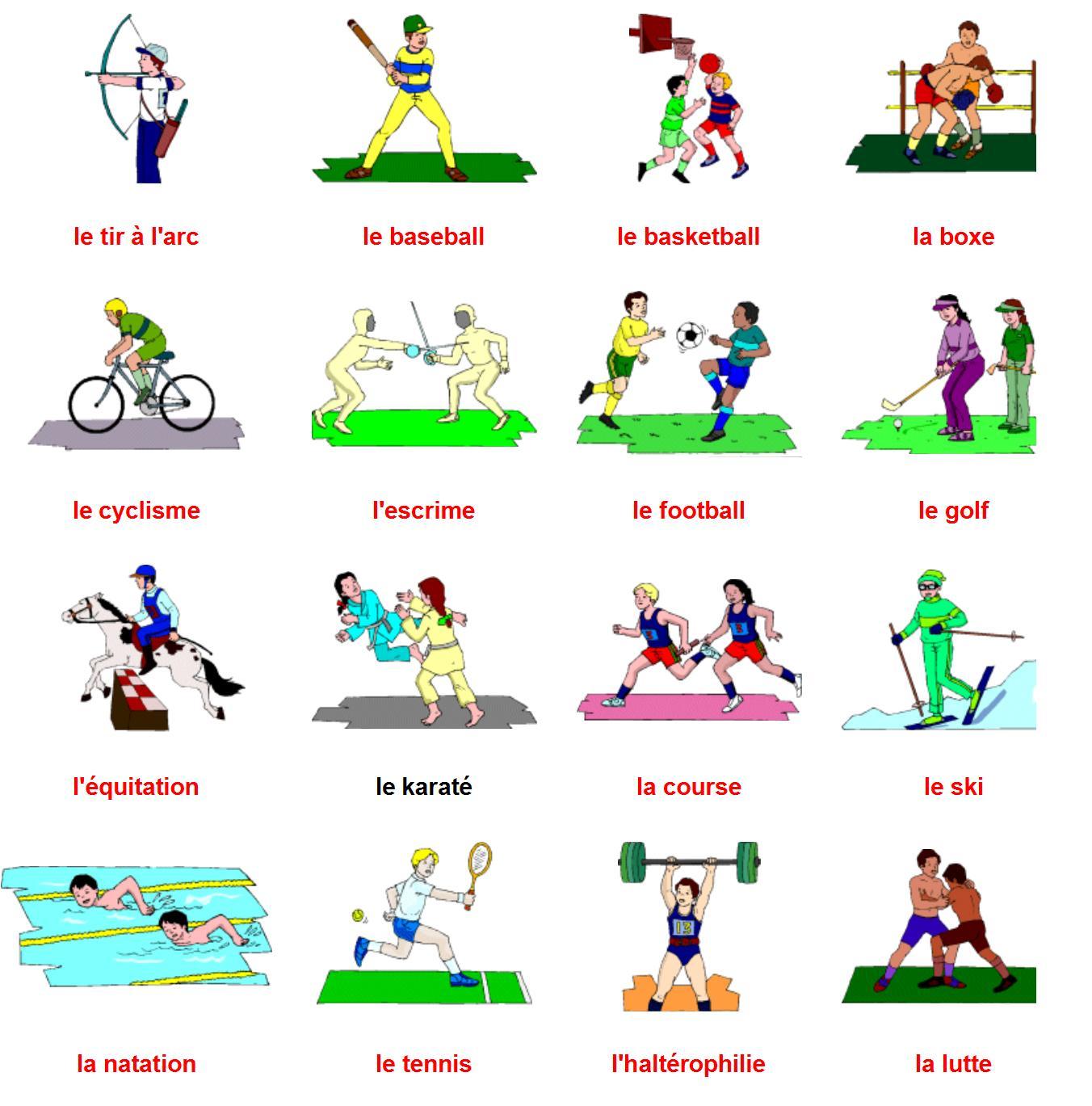 Les Types De Sport