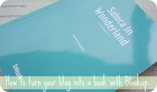 turn your blog into a book with blookup