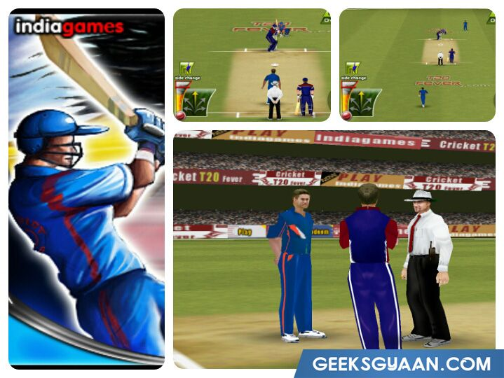 cricket fever games for android