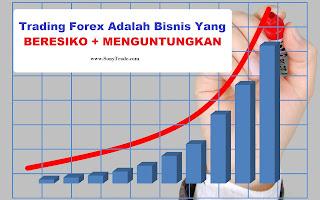 belajar trading saham forex berbahaya beresiko menguntungkan profitable