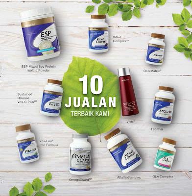 Image result for top ten produk shaklee