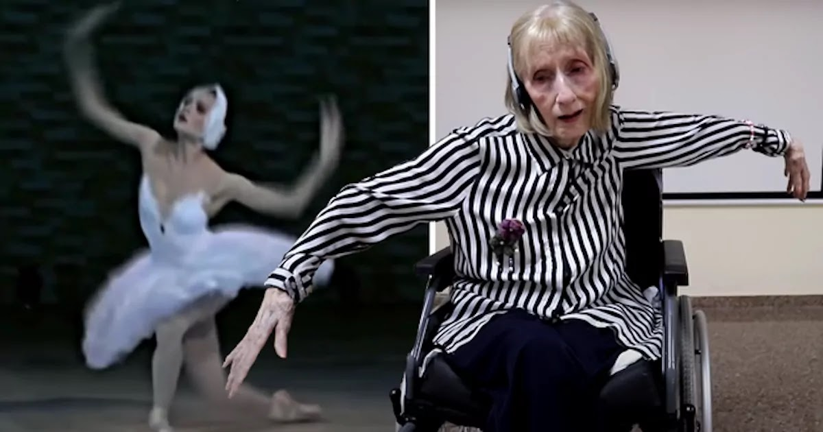 Video Shows Former Ballerina With Alzheimer's Disease Remembering After Hearing Tchaikovsky's Swan Lake