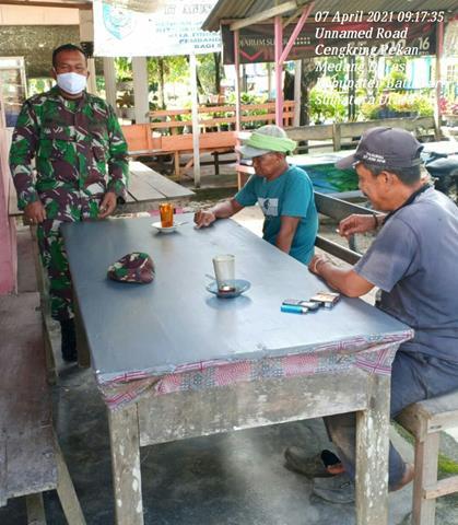 Personel Jajaran Kodim 0208/Asahan Bina Sinergitas Dengan Mitra Karib