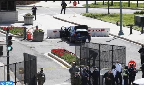 الولايات المتحدة.. مقتل شرطي في اعتداء على مبنى الكابيتول