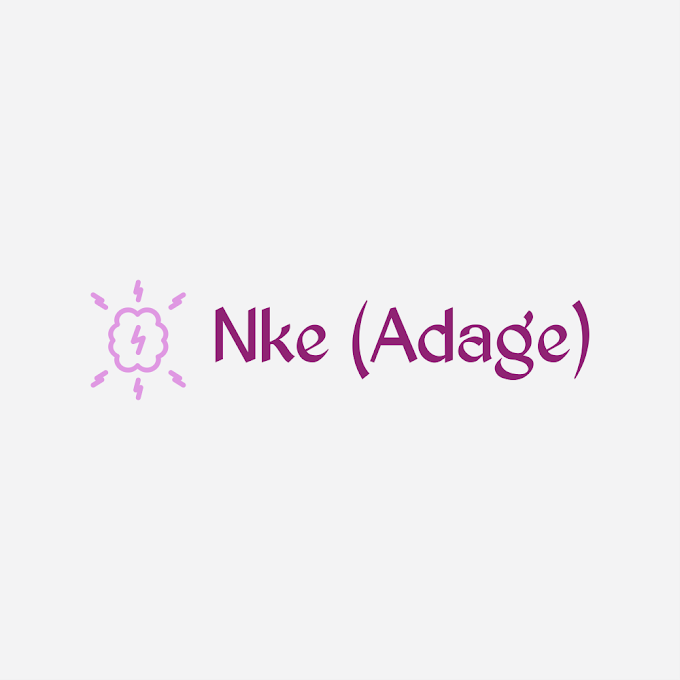 Nke (Adage) Vol. 1