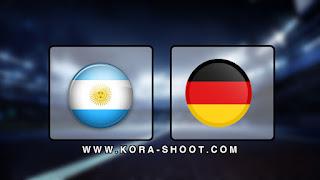 مشاهدة مباراة المانيا والارجنتين بث مباشر 09-10-2019 مباراة ودية