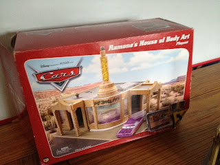 Dan The Pixar Fan Cars Ramone S House Of Body Art Playset