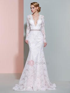 http://www.tidebuy.com/product/V-Neck-Beaded-Lace-Mermaid-Wedding-Dress-With-Sleeves-12205958.html