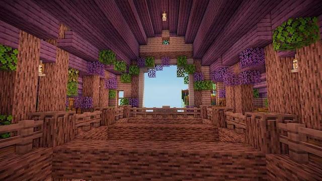 Minecraft Barn Interior