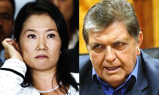 Keiko Fujimori, Alan García