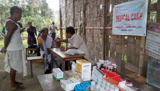 Free Medical Camps at Namsai, Arunachal Pradesh