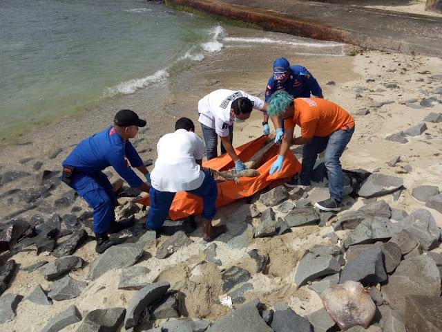 Mayat Tanpa Identitas Ditemukan Dekat Perairan Pulau Ayer