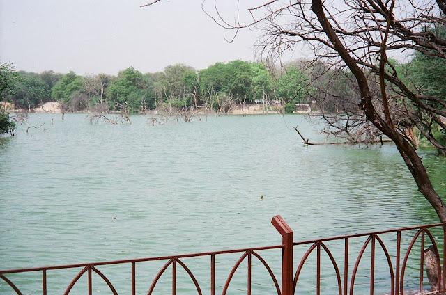 Hauz-i-Alai, the tank of Ala-ud-din Khilji at Hauz Khas Complex