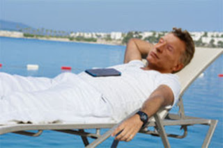 Mauricio Macri, president of Argentina, sleeps during his vacation