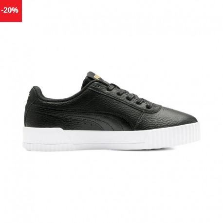 Pantofi sport femei negri piele naturala Puma CARINA LUX L REDUCERE