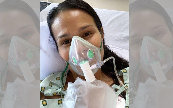 Actress Iza Calzado hospitalized for pneumonia