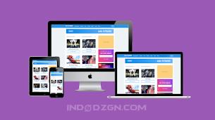 Digizena Premium Blogger Template