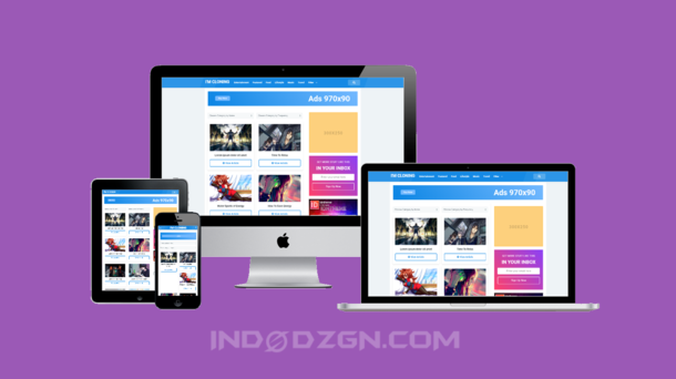 Digizena Premium Blogger Template
