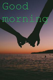 romantic good morning image for boyfriend