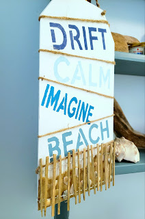donna gets crafty diy home decor beach sign