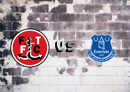 Fleetwood Town vs Everton  Resumen
