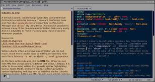 Color scheme u Gedit, Ubuntu Linux
