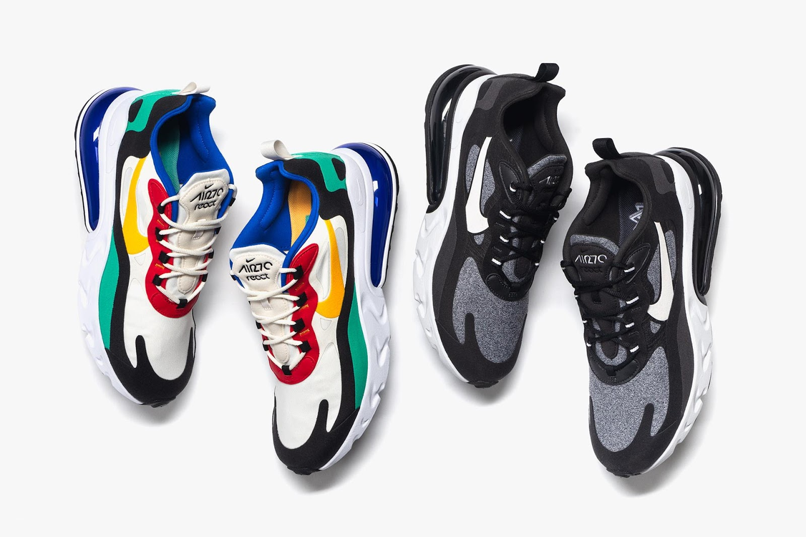 first rate 916b5 d40dc Nike AM 270 React - FADED4U