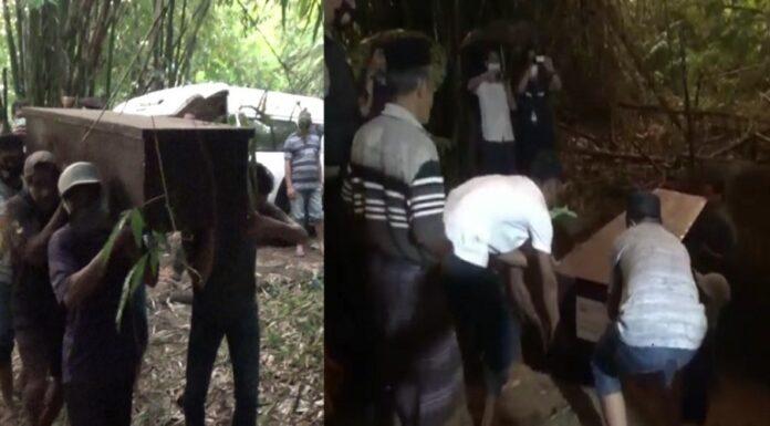 Pemakaman Satu Liang Pasangan Bomber Makassar, Keluarga Histeris dan Warga Merasa Aneh karena Hal Ini