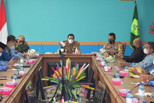 Pasca 5 Stap OPD Positif Covid-19, Pemkab Natuna Akan Melakukan Kebijakan Work From Home