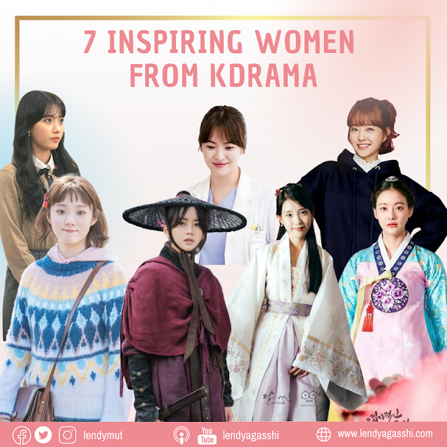 7 Karakter Wanita Menginspirasi dalam Drama Korea