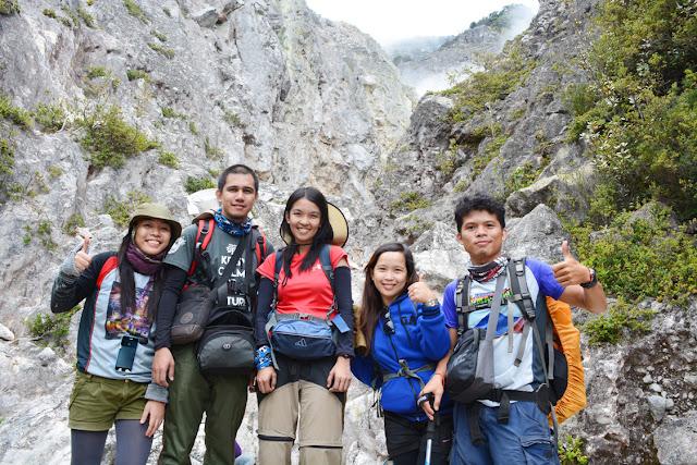Mt. Apo Boulder Face
