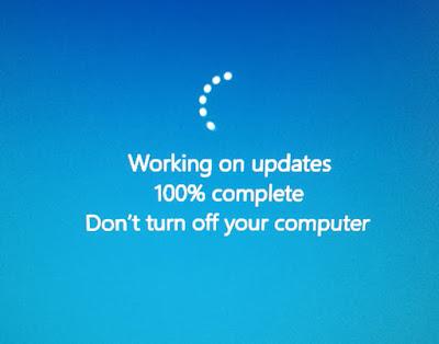 Windows päivitysteksti häiritsee radioamatööritoimintaa, OH2DD