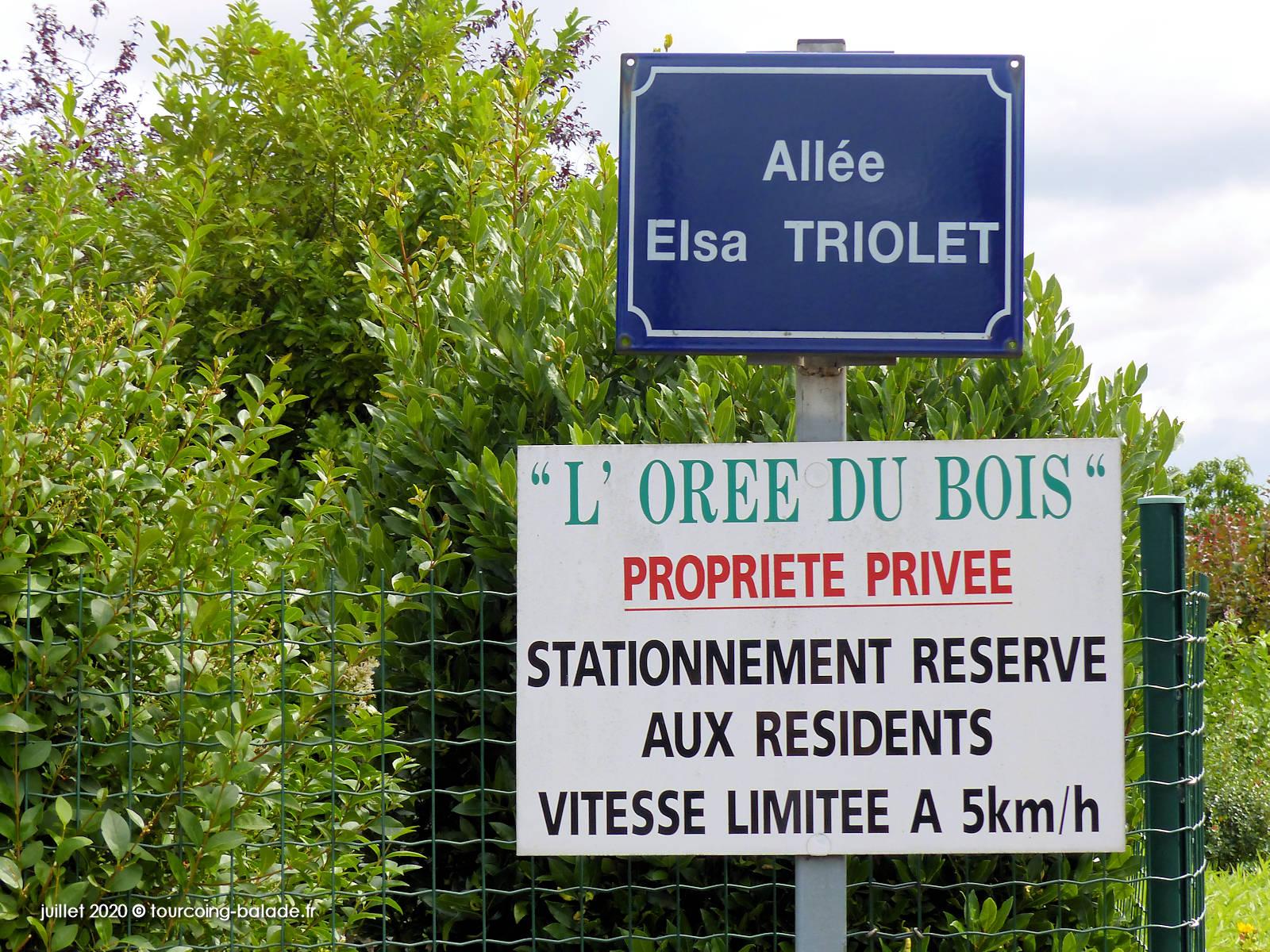 L'Orée du Bois, Allée Elsa Triolet, Tourcoing 2020