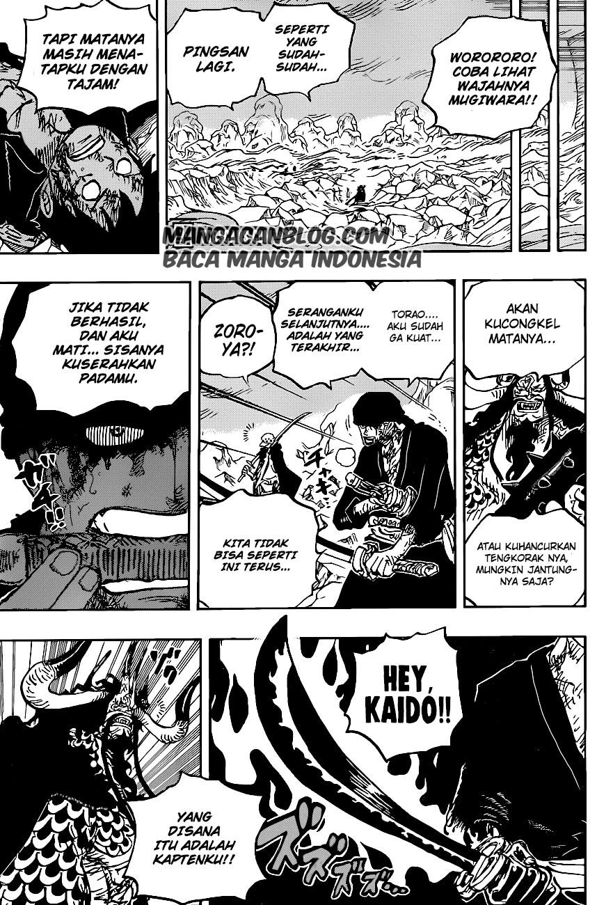 Manga One Piece Chapter 1010 Bahasa Indonesia