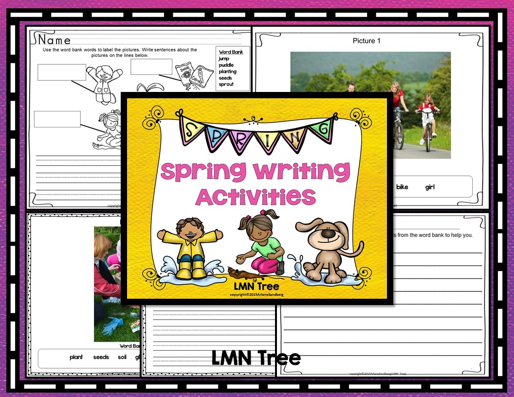 Classroom Writing Ideas : Classroom freebies spring writing activity packet
