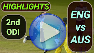 ENG vs AUS 2nd ODI 2020
