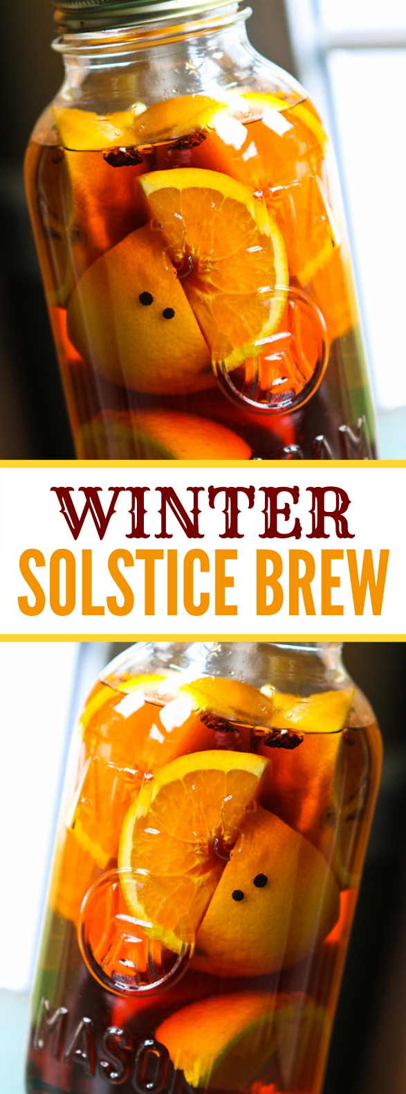 Winter Solstice Brew #christmas #drinks