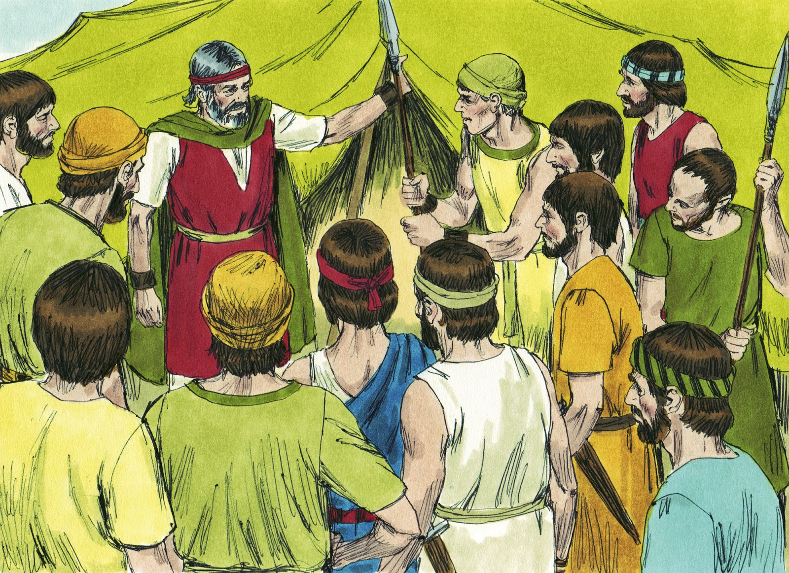 Bible Fun For Kids Moses Joshua Amp 12 Spies Sent To Canaan