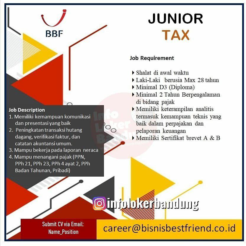 Lowongan Kerja Bisnis Best Friend Bandung Oktober 2019