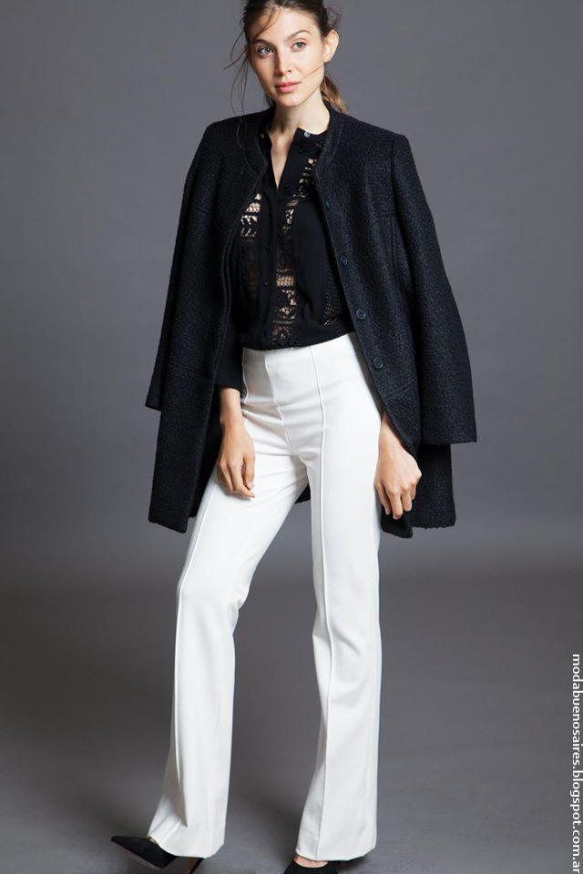 Pantalones de moda invierno 2016 Awada. Moda 2016 invierno mujer.