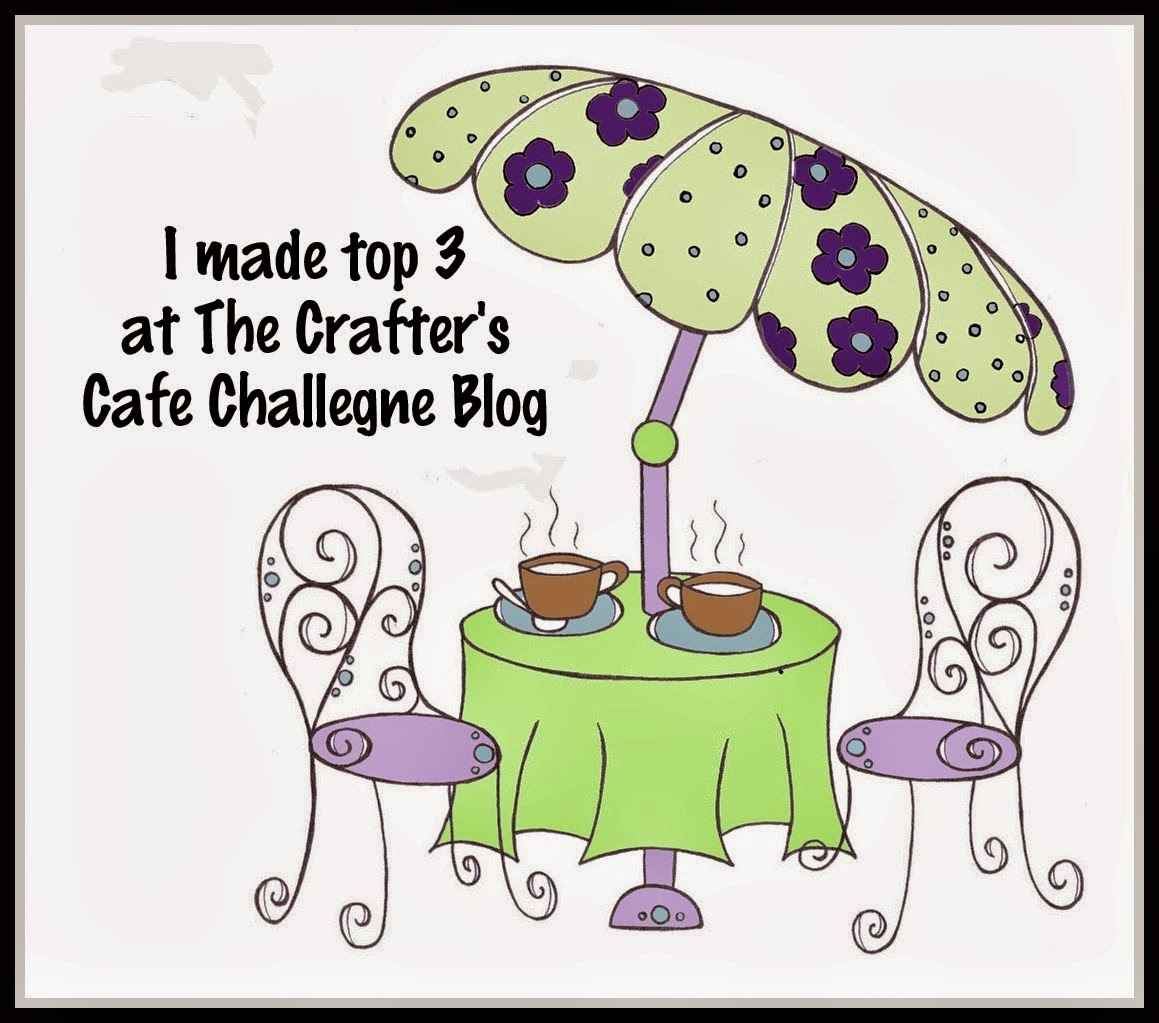 The Crafter's Cafe Top 3 School's Out/Graduation Challenge 06-03-15