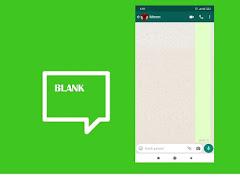 Cara Membuat Story, Nama, Info dan Kirim Pesan Kosong di WhatsApp