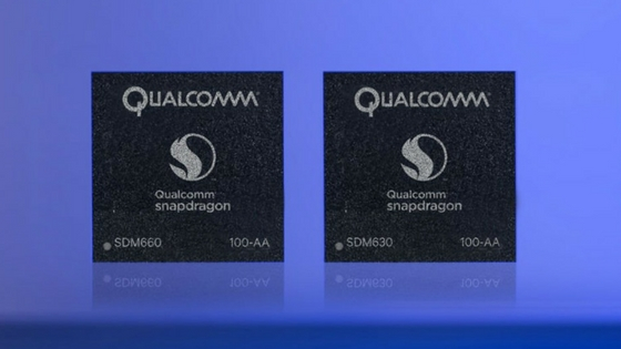 Qualcomm Snapdragon 660 and 630 bring the top-shelf features to mid range chipsets