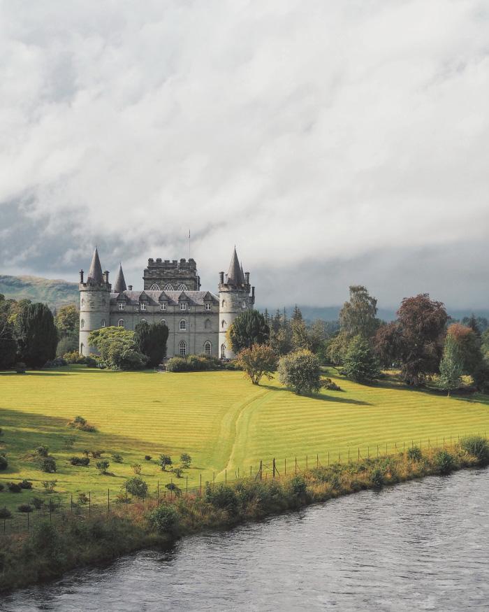 Château de Inveraray en Ecosse