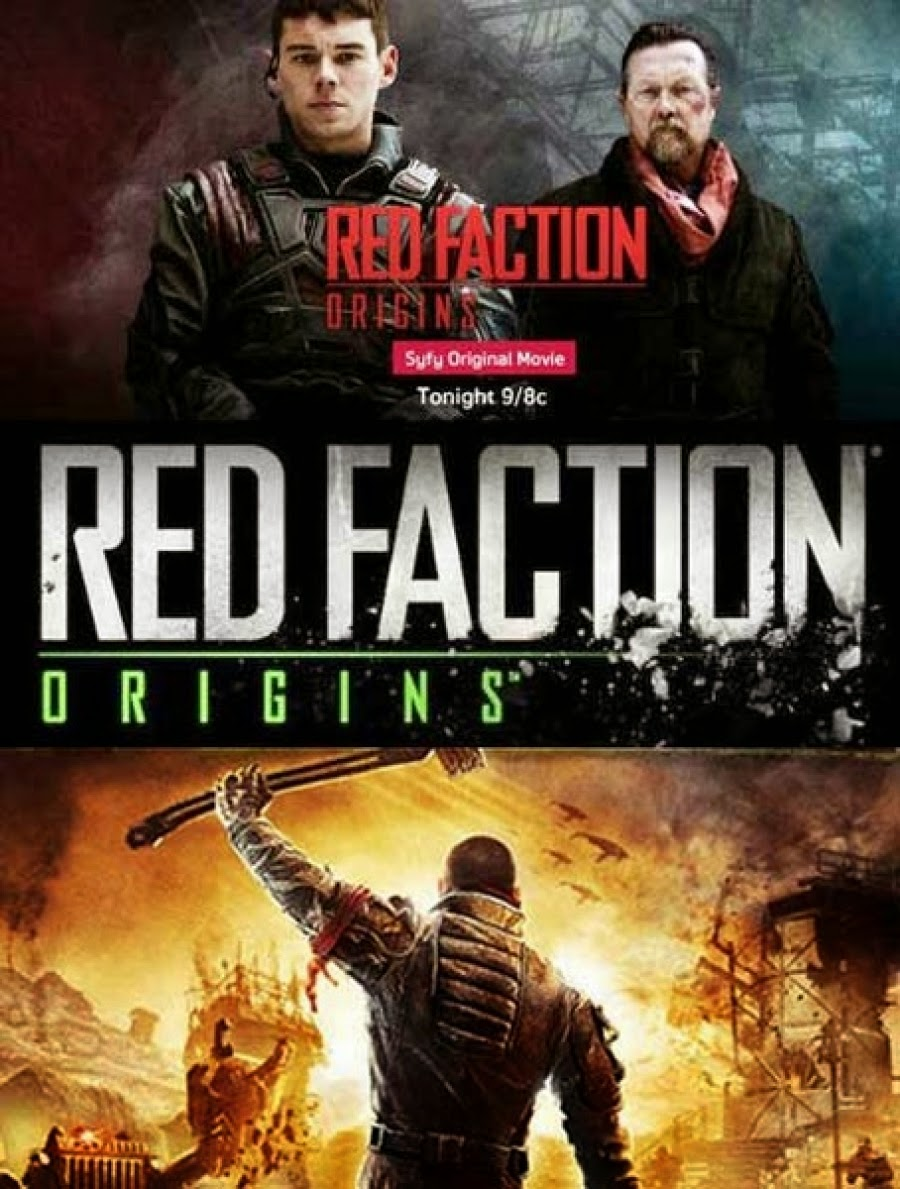 Red Faction Origins movie poster